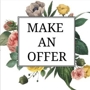 Make and offer!